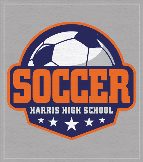 Soccer T-shirt Shield Logo