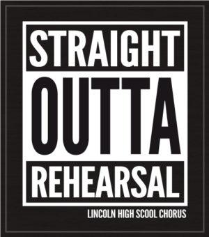 Straight Outta Choir Shirt