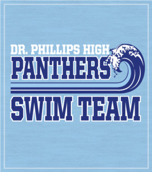 Swim Team T-shirt with Wave