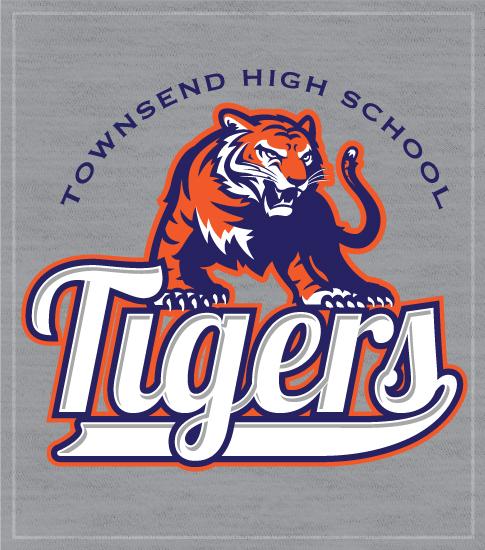 Tigers Spirit T-shirts Script