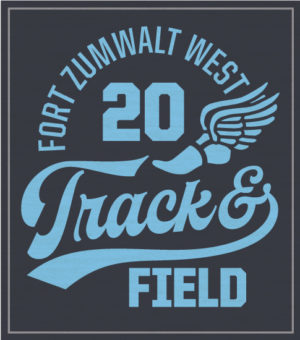 Track and Field T-shirt Script