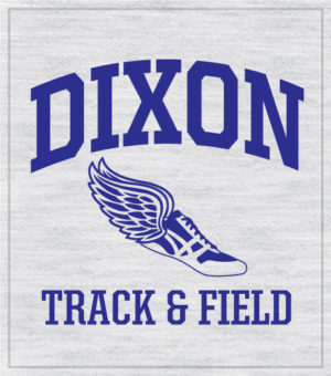 Track and Field Shirt Arched