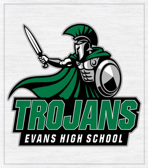 Trojans Spirit T-Shirt Evans High