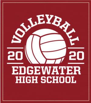 High School Volleyball T-shirt