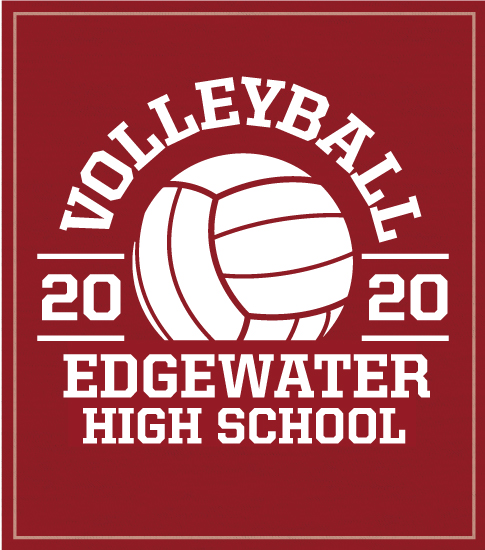 High School Volleyball T-shirt