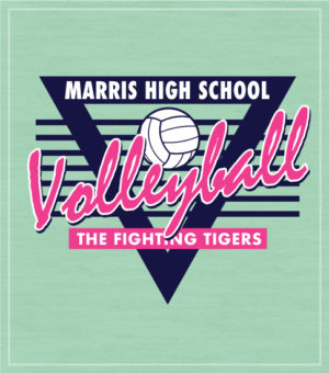 Retro Volleyball T-shirt