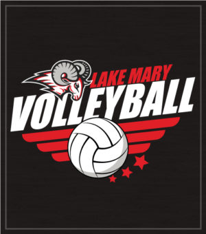 School Team Volleyball T-shirt