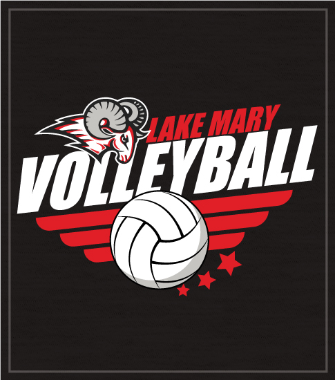 School Team Volleyball T-shirt