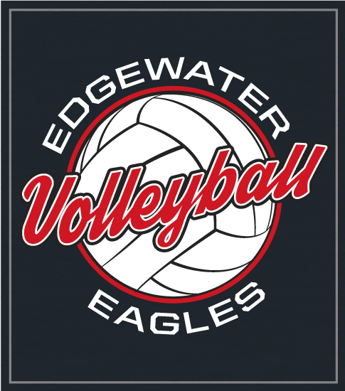 Volleyball T-shirt with Script