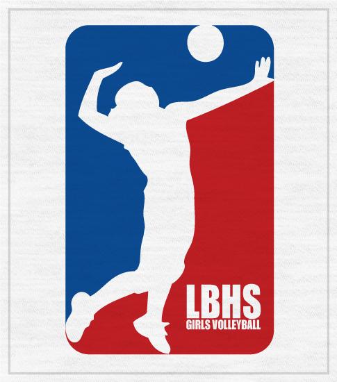 Girls Volleyball T-shirt School Team