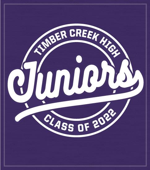 Junior Class Shirt Circle Script