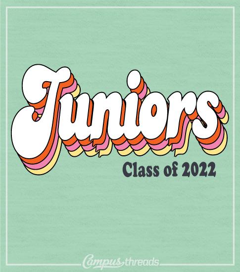 Junior Class Shirt Retro Script