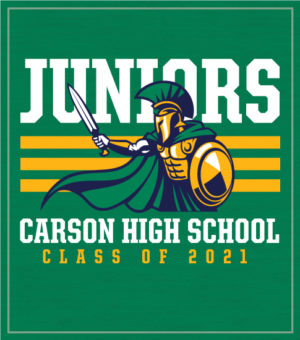 Junior Class T-shirt with Mascot