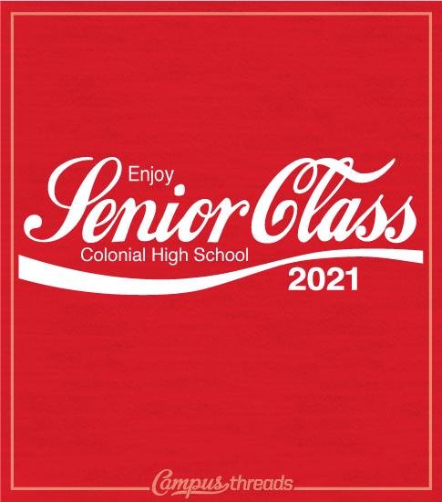 Class of 2021 Shirt Coke Logo