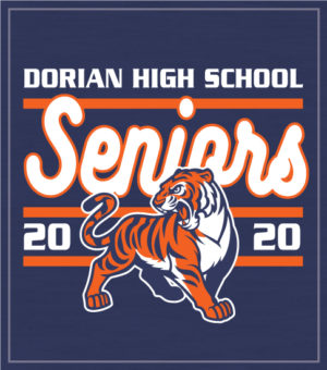 Senior Class Shirt with Mascot