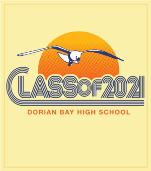 Class of 2021 Retro Seventies T-shirt