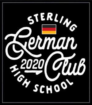 German Club Shirt Circle Script