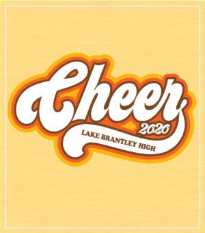Retro Cheer T-shirt Seventies Style