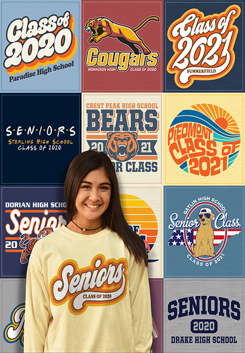 Senior Class Shirts Collection