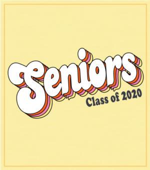 Senior Class Shirt Retro Script