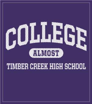 College Bound Senior Class T-shirt