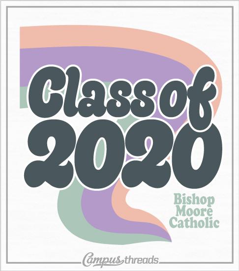 Class of 2020 Senior Shirts Retro Style