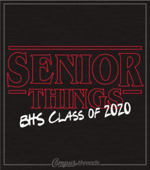 Senior Class T-shirts Stranger Things