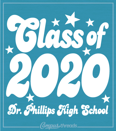 Class of 2020 Throwback Style Shirt