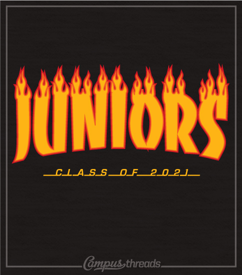 Junior Class Shirt Skateboard Design