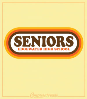 Senior Class Retro Shirt Design