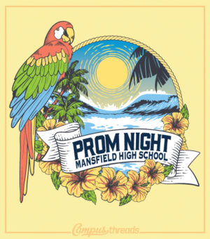 Tropical Prom Night Shirt