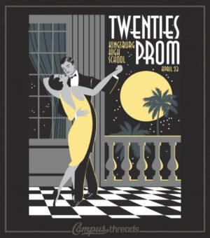Roaring Twenties Prom Night Shirt