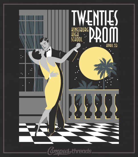 Roaring Twenties Prom Night Shirt