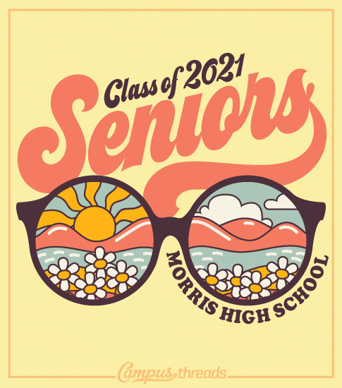Senior Class Shirts Glasses