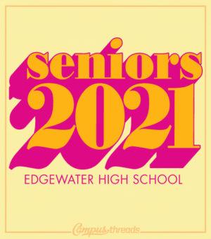 Senior Class Shirts Retro
