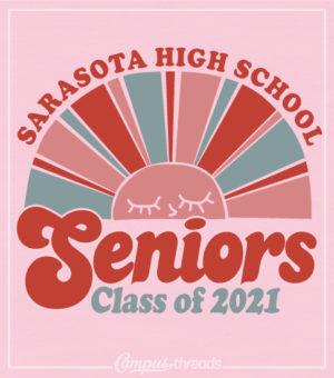 Senior Class Shirt Sun