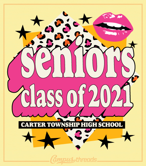 Senior Class Shirts Collage