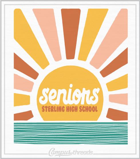 Senior Class Shirts Sunrise