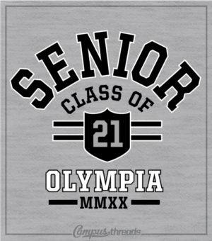 1334 Senior Class Arched Shirt
