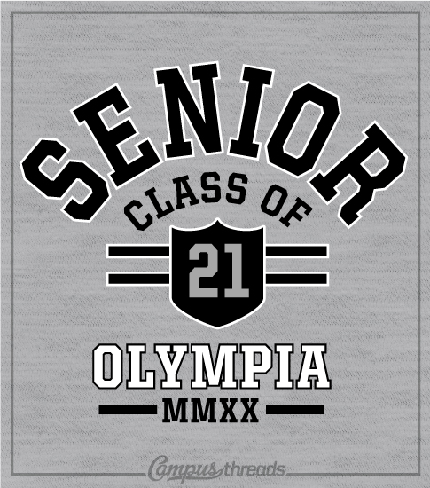 1334 Senior Class Arched Shirt
