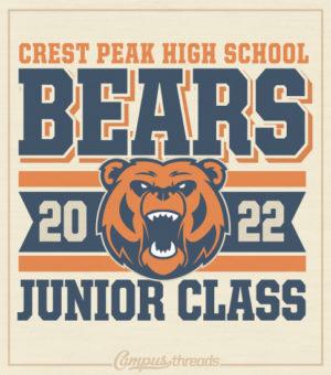Junior Class of 2022 Shirts Bears