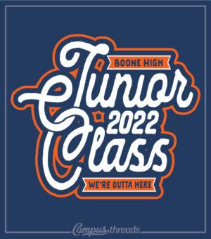 1285 Junior Class T-shirt Interlocking