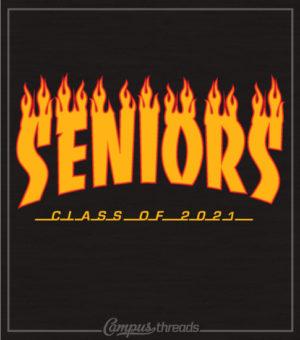 Class of 2021 Senior Skateboard T-shirt