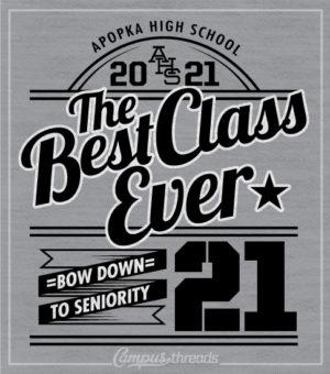Class of 2021 Shirt Best Ever