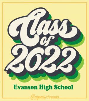 Class of 2022 Shirt Retro 70s