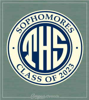 Class of 2021 T-shirt Monogram