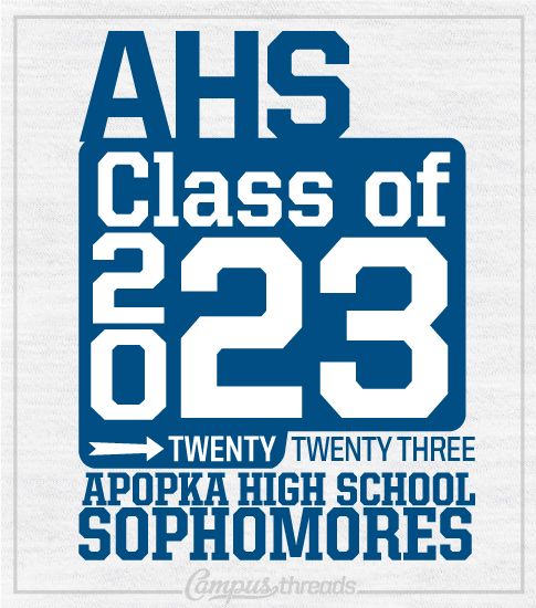Class of 2023 Sophomores T-shirt