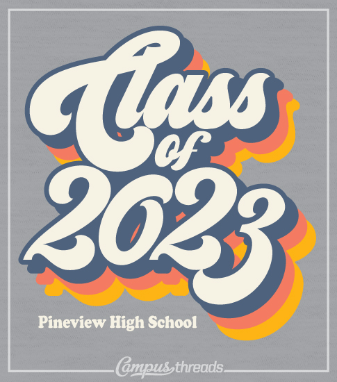 Class of 2023 Retro T-shirt