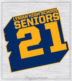 1227 Senior Class T-Shirt Tilted