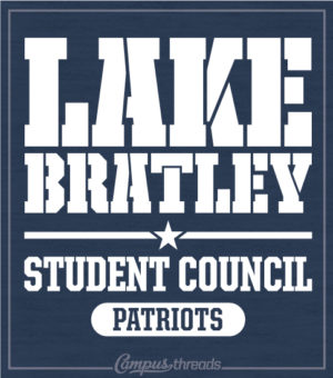 Student Government Shirt Stencil